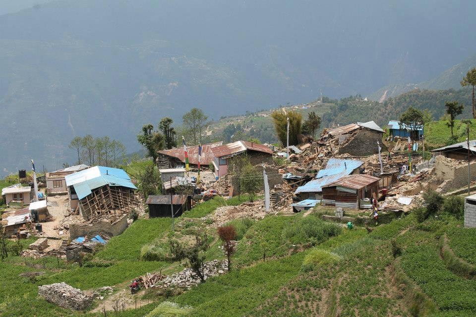 Little Lama Family Fundraiser Nepal Earthquake Relief Destruction