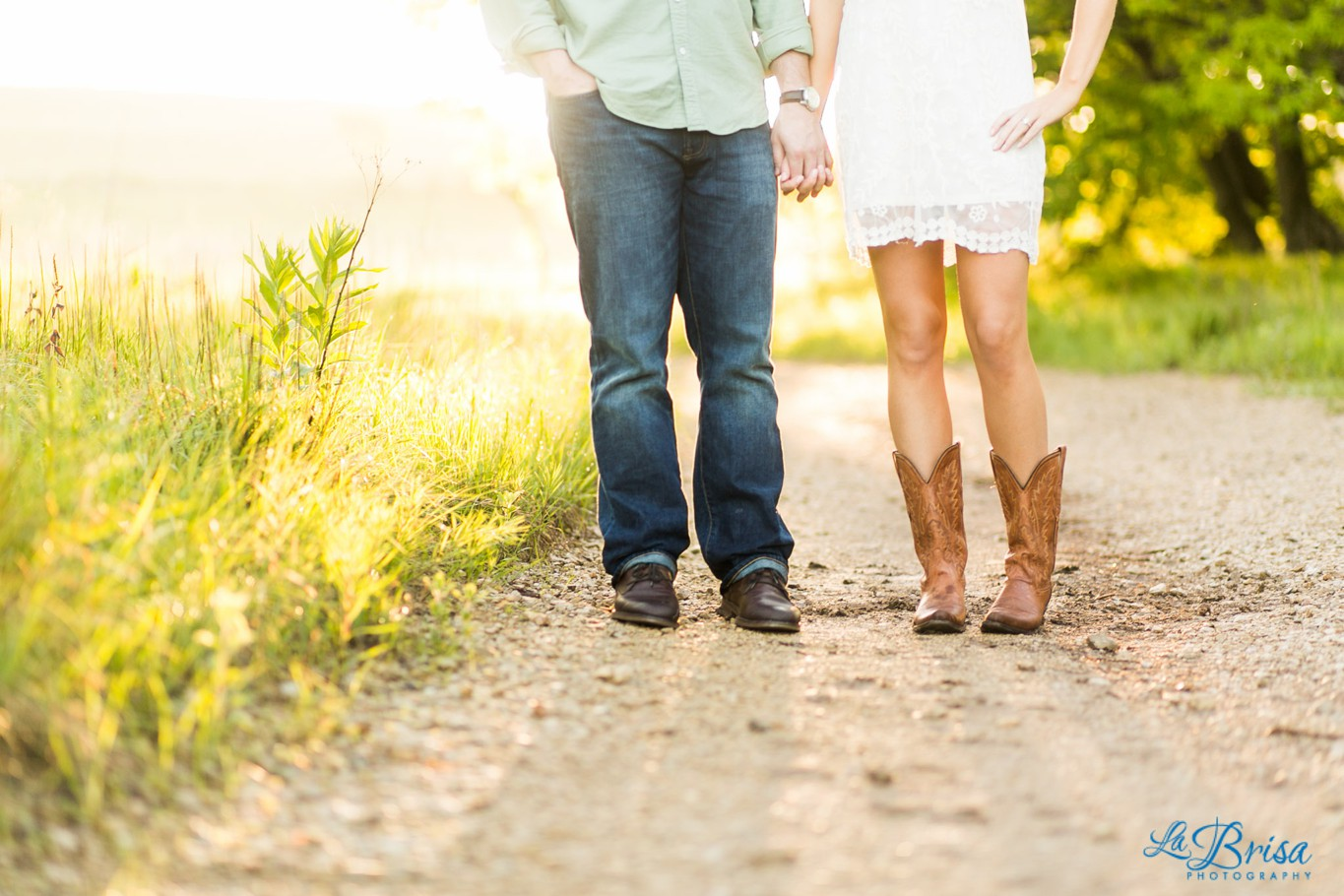 Engagement Attraction Session Manhattan Kansas Emma York La Brisa Photography