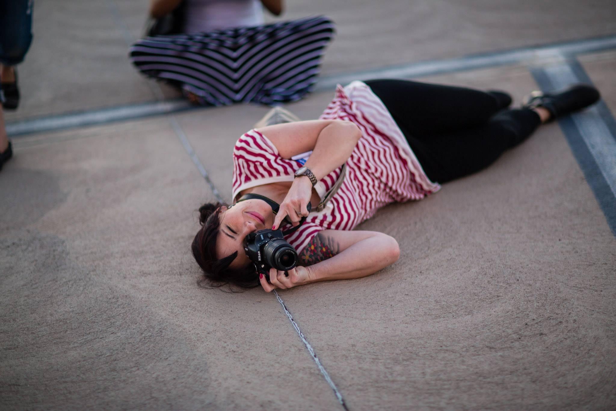 Photographer suicide prevention