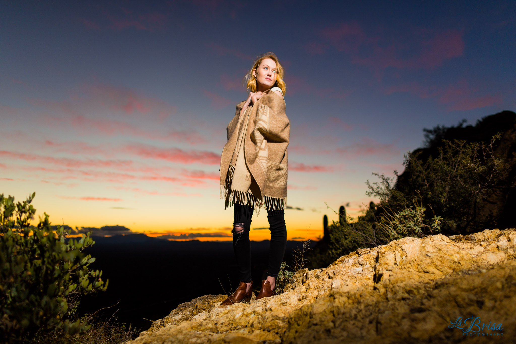 Desert Tucson Senior Portrait Photography