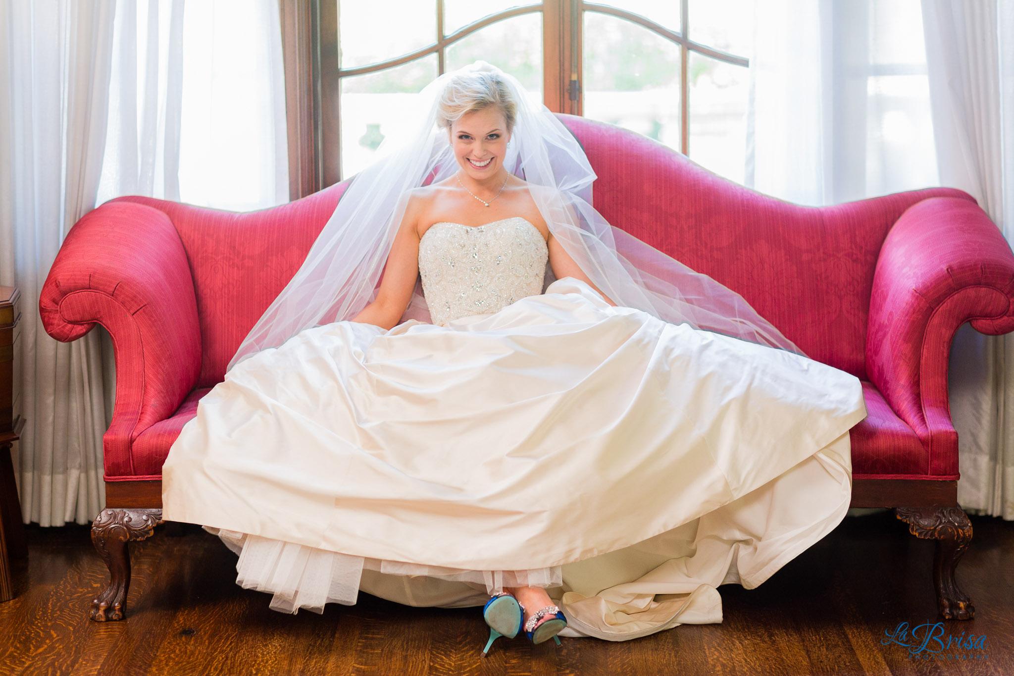 Aldredge House Bridal Portraits