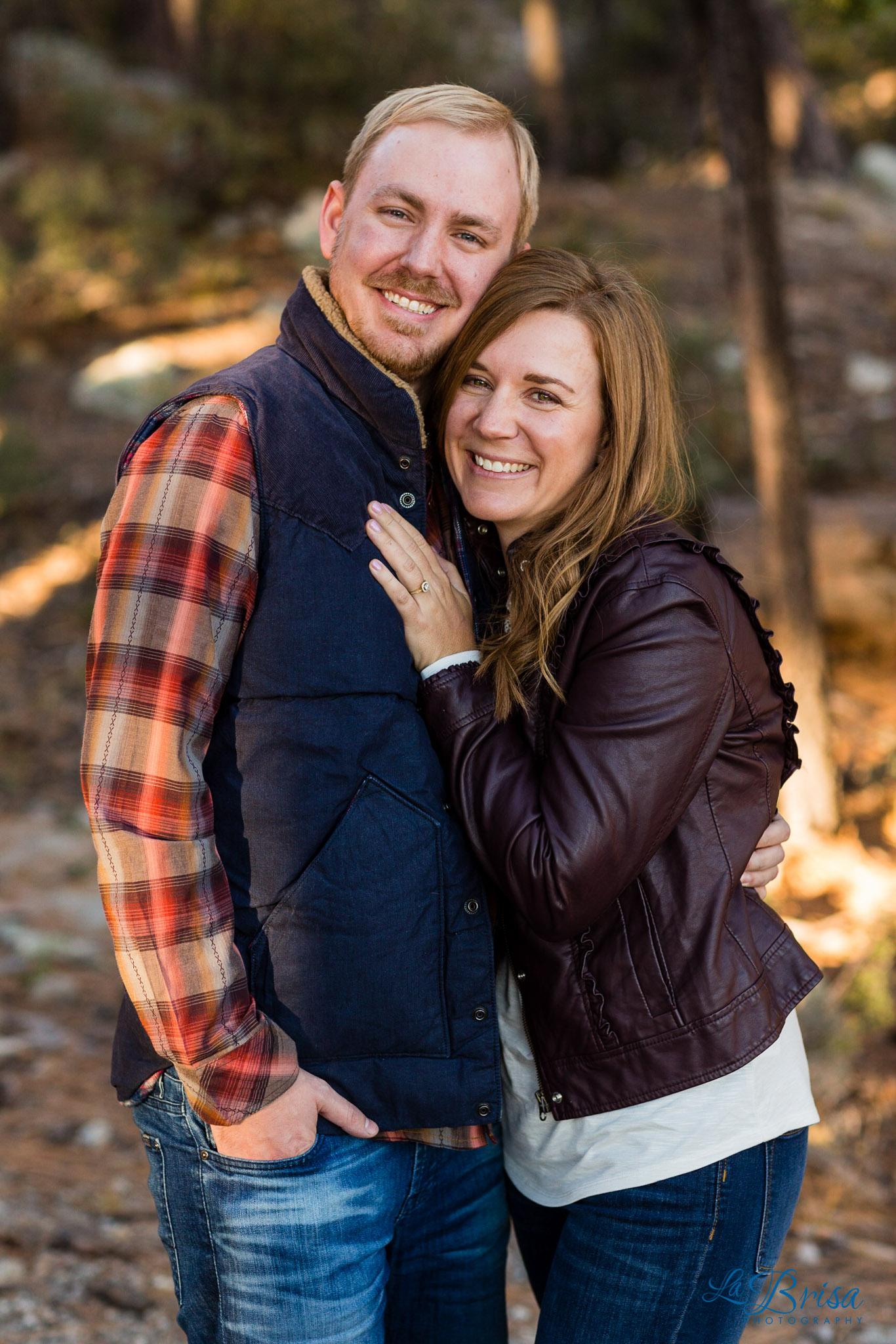 Mt Lemmon Tucson Engagement Photographer
