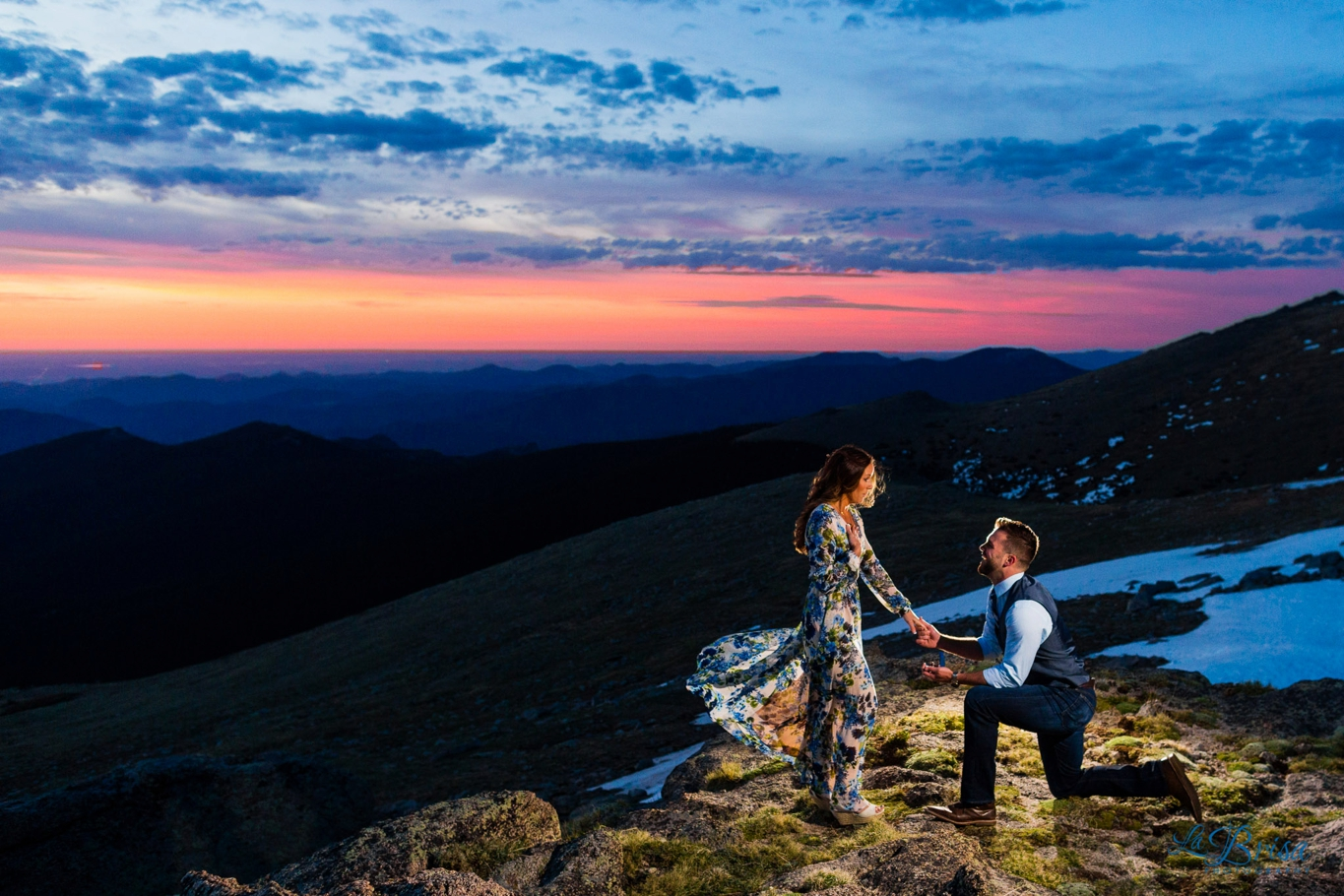 Kylee and Gil's Wedding Proposal Story | Mt  Evans, Colorado