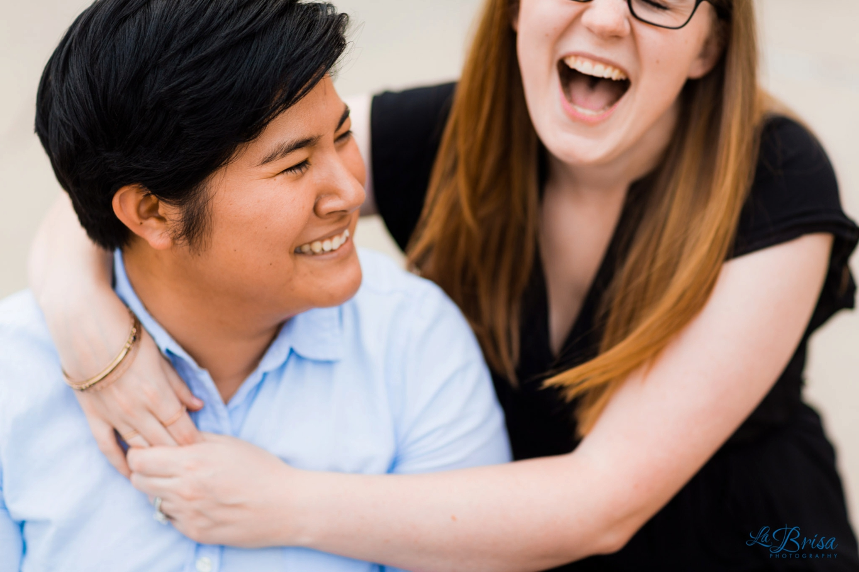 Lesbian Engagement Photography