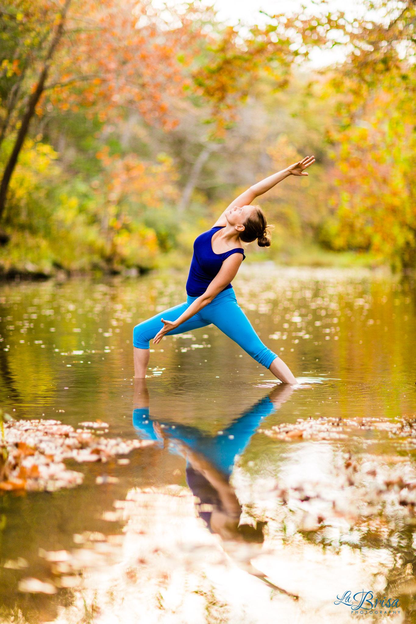 Outdoor Yoga Poses By Orange Sky Yoga Instructors