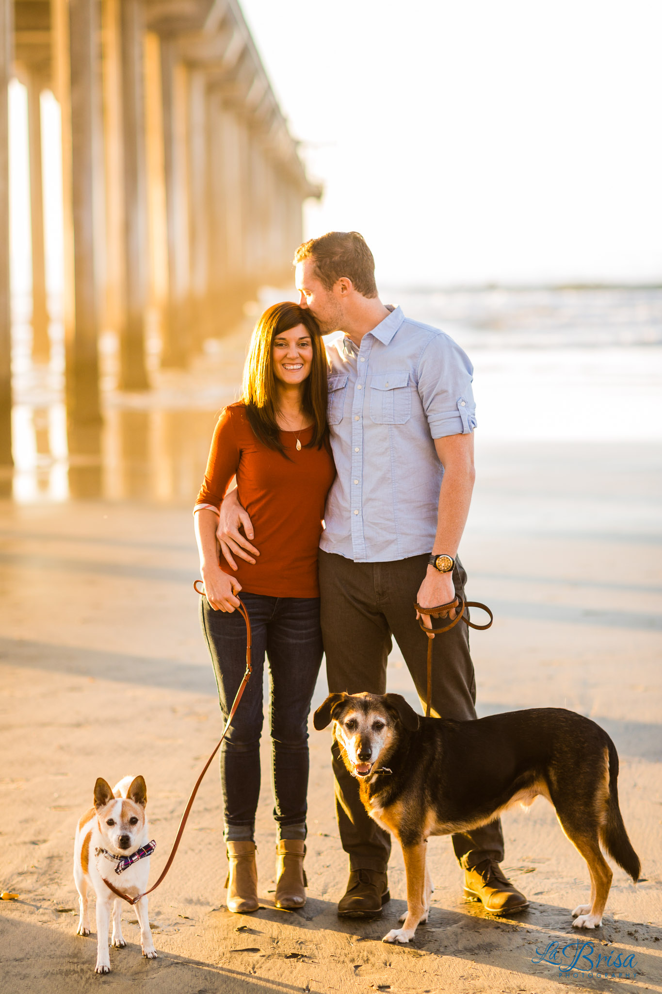 Scripps Pier Dog Photos
