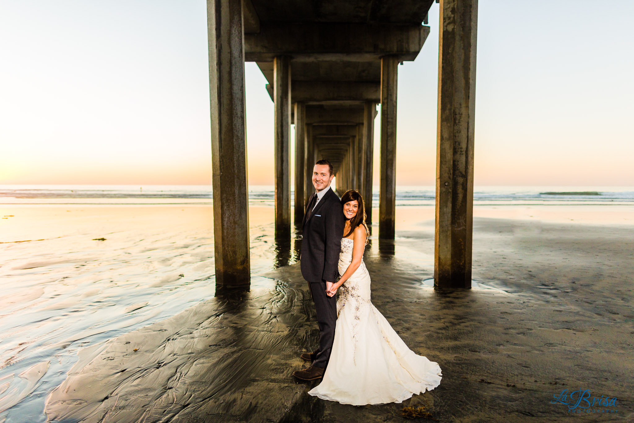 Scripps Pier Wedding