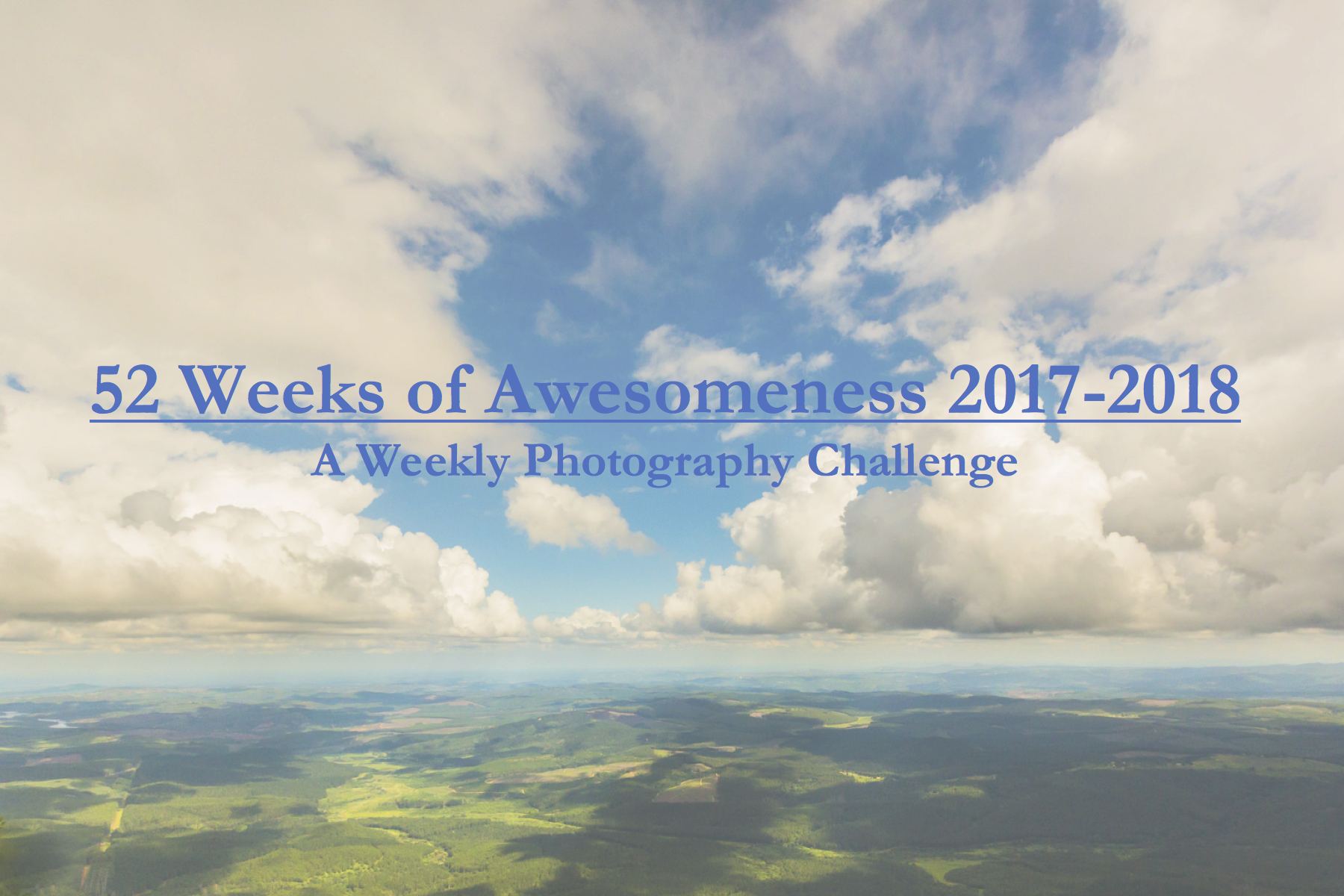 weekly photography challenge