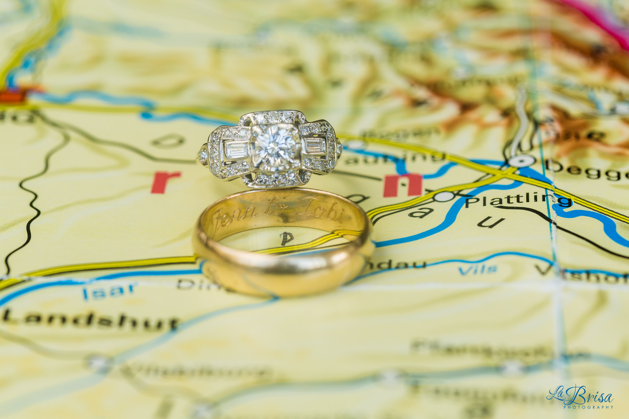 Wedding Rings German Map