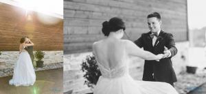 bride groom first look stonecrest