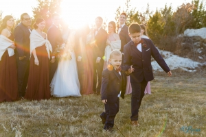 ringbearers walking stonecrest wedding