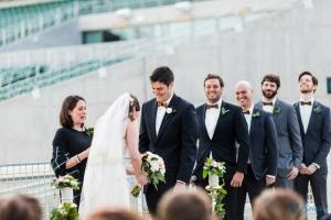 Wedding Ceremony Colorado State Football Stadium