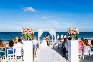 now sapphire riviera cancun destination wedding ceremony beach