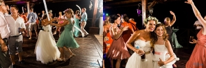 bride dancing at Now Sapphire Riviera Cancun Destination Wedding Reception