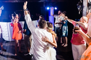 bride groom last dance Now Sapphire Riviera Cancun Destination Wedding Reception
