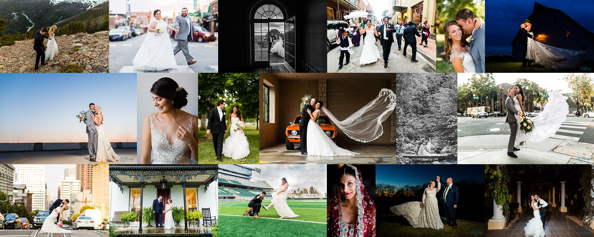 Wedding Photography Pose Collage