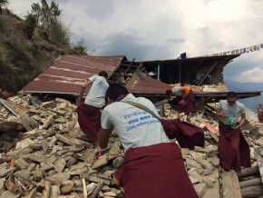 Little Lama Nepal Earthquake Relief Efforts