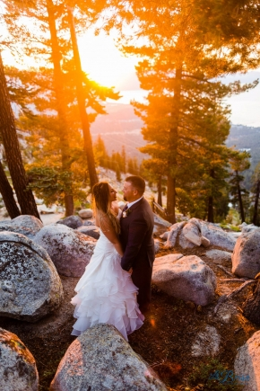 Heavenly Lake Tahoe Wedding