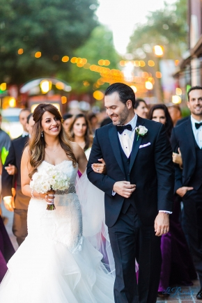 Elegant Wedding Party Santana Row Hotel Valencia