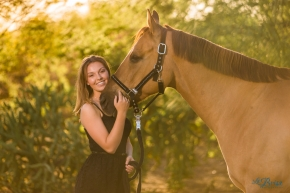 Tucson Horse Ranch Senior Portrait